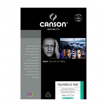 CANSON AQUARELLE RAG A4 21X29,7 240g 25 FOGLI