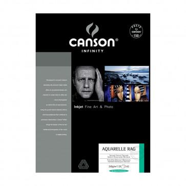 CANSON AQUARELLE RAG A3 29,7X42 240g 25 FOGLI