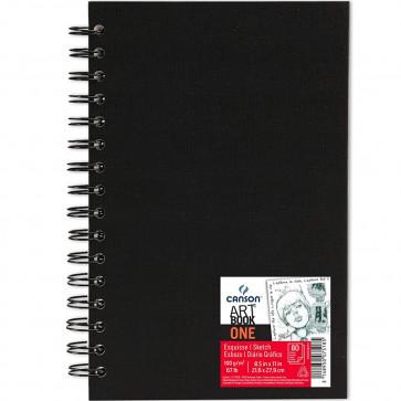 BLOCCO CANSON ART BOOK ONE 21,6X27,9 cm 80 FOGLI 100 g/m²
