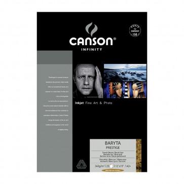 CANSON BARYTA PRESTIGE 340 g/m A3+ 32,9X48,3 25 FOGLI