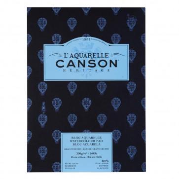 BLOCCO CANSON HERITAGE 26X36cm 12 FF 300 g/m  GRANA TORCHON