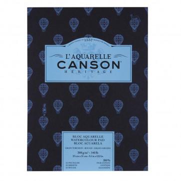 BLOCCO CANSON HERITAGE 23X31cm 12 FF 300 g/m GRANA TORCHON