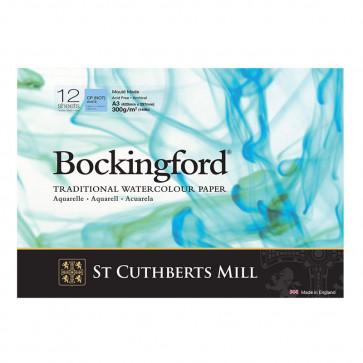 BLOCCO BOCKINGFORD 29,7X42 cm 12 FF 300 g/m  CP (NOT) WHITE