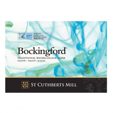 BLOCCO BOCKINGFORD 21X29,7 cm 12 FF 300 g/m  CP (NOT) WHITE