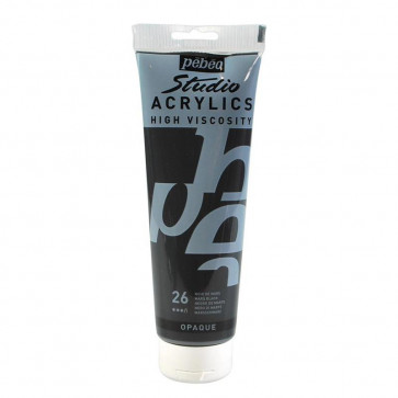 PEBEO STUDIO ACRYLICS 100 ml  26 MARS BLACK