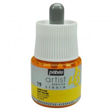 ACRILICO PEBEO COLOREX TECHNIC 45 ml LIGHT YELLOW