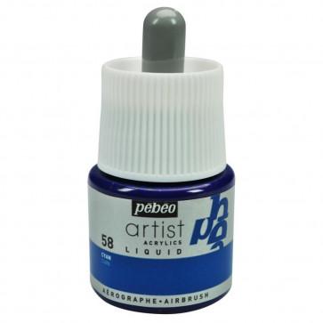 ACRILICO PEBEO COLOREX TECHNIC 45 ml CYAN