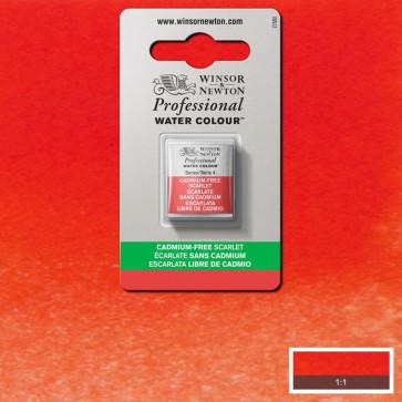 ACQUERELLO WINSOR 1/2 GODET G4 CADMIUM FREE SCARLET 903