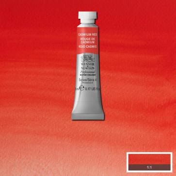 acquerello winsor & newton s4  cadmium red tubo 5ml