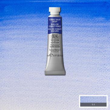 ACQUERELLO WINSOR & NEWTON S4  COBALT BLUE DEEP TUBO 5ml