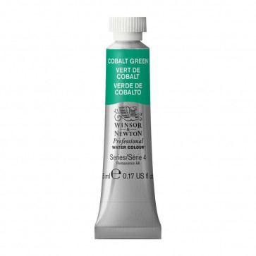 ACQUERELLO WINSOR & NEWTON S4  COBALT GREEN TUBO 5ml