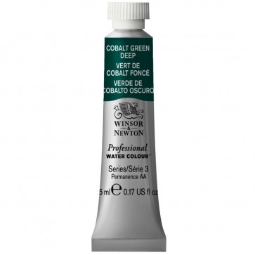 ACQUERELLO WINSOR & NEWTON S3  COBALT GREEN DEEP TUBO 5ml