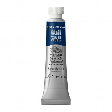 ACQUERELLO WINSOR & NEWTON S1  PRUSSIAN BLUE TUBO 5ml
