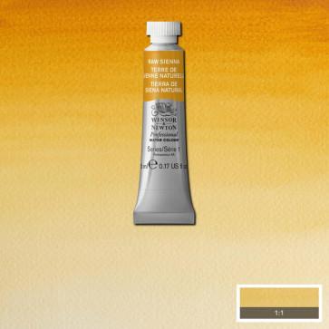acquerello winsor & newton s1  raw sienna tubo 5ml
