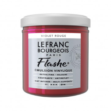 ACRILICO FLASHE L&B 125 ml S1 VIOLET ROUGE