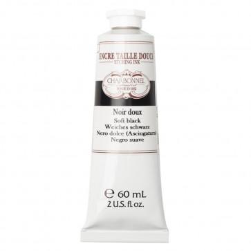 CHARBONNEL ENCRE TAILLE DOUCE NOIR DOUX 60 ml