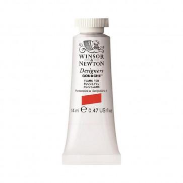 TEMPERA WINSOR & NEWTON 14 ml N.249 FLAME RED S1