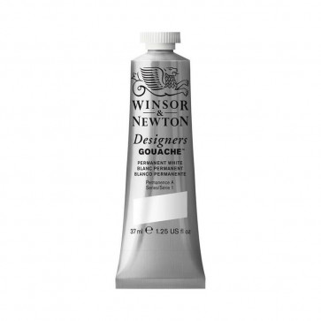 TEMPERA WINSOR & NEWTON 37 ml N.512 PERMANENT WHITE S1