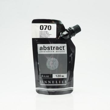 ACRILICO SENNELIER ABSTRACT 120ml 070 IRIDESCENT BLACK