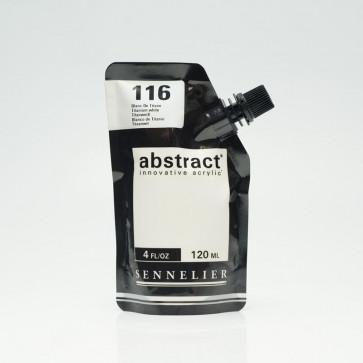 ACRILICO SENNELIER ABSTRACT 120ml 116 TITANIUM WHITE