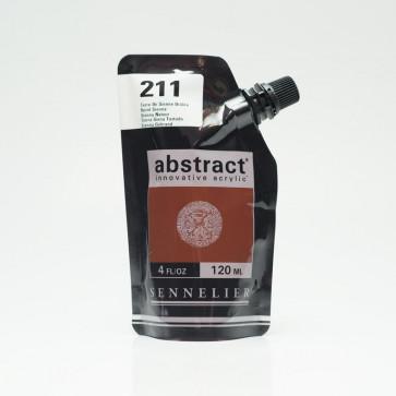 ACRILICO SENNELIER ABSTRACT 120ml 211 BURNT SIENNA