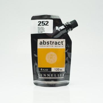 ACRILICO SENNELIER ABSTRACT 120ml 252 YELLOW OCHRE