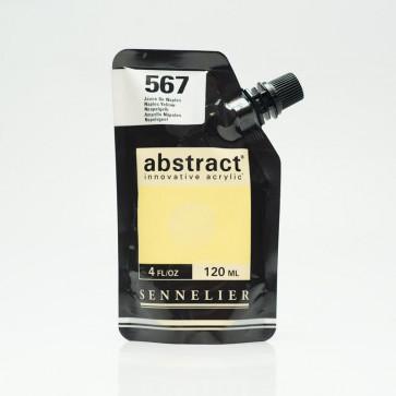 ACRILICO SENNELIER ABSTRACT 120ml 567 NAPLES YELLOW
