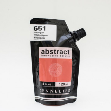 ACRILICO SENNELIER ABSTRACT 120ml 651 VENETIAN PINK