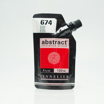 ACRILICO SENNELIER ABSTRACT 120ml 674 VERMILION