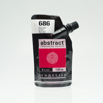 ACRILICO SENNELIER ABSTRACT 120ml 686 PRIMARY RED