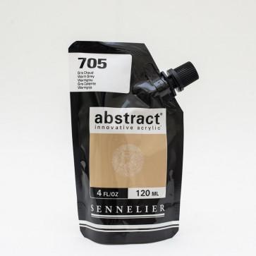 ACRILICO SENNELIER ABSTRACT 120ml 705 WARM GREY