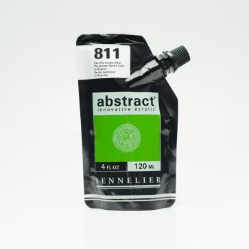 ACRILICO SENNELIER ABSTRACT 120ml 811 PERMANENT GREEN LIGHT