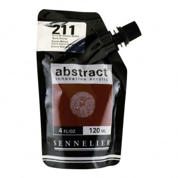 ACRILICO SENNELIER ABSTRACT 120ml 211B HG BURNT SIENNA