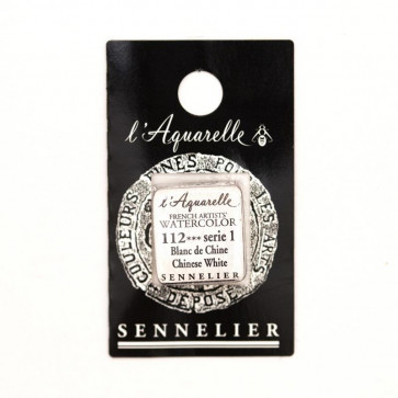 ACQUERELLO SENNELIER ½ GOD 112 S1 CHINESE WHITE