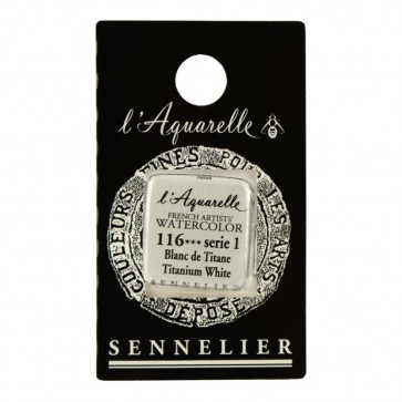 ACQUERELLO SENNELIER ½ GOD 116 S1 TITANIUM WHITE