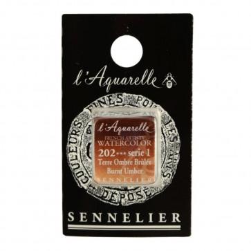 ACQUERELLO SENNELIER ½ GOD 202 S1 BURNT UMBER