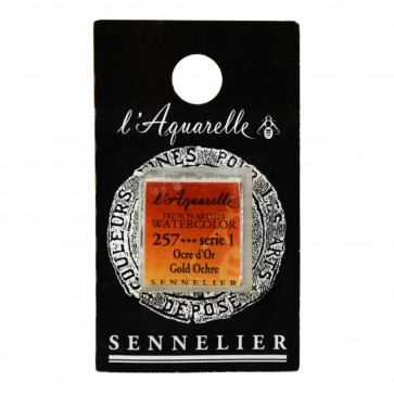 ACQUERELLO SENNELIER ½ GOD 257 S1 GOLD OCHRE