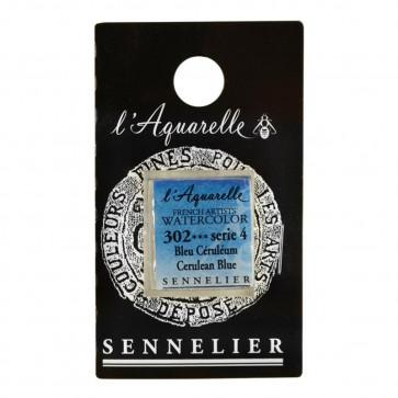 ACQUERELLO SENNELIER ½ GOD 302 S4 CERULEAN BLUE