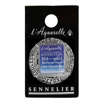 ACQUERELLO SENNELIER ½ GOD 314 S2 FRENCH ULTRAMARINE BLUE