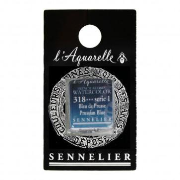 ACQUERELLO SENNELIER ½ GOD 318 S1 PRUSSIAN BLUE