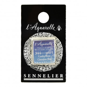 ACQUERELLO SENNELIER ½ GOD 344 S1 CINEREOUS BLUE
