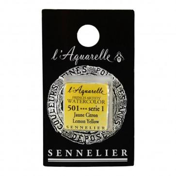 ACQUERELLO SENNELIER ½ GOD 501 S1 LEMON YELLOW