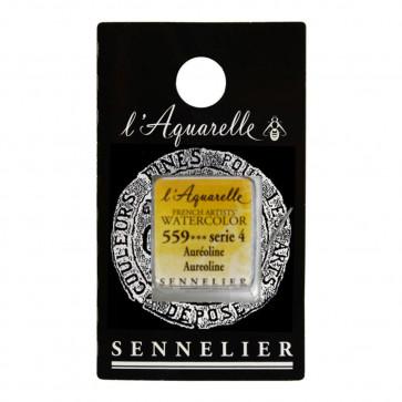 ACQUERELLO SENNELIER ½ GOD 559 S4 AUREOLINE