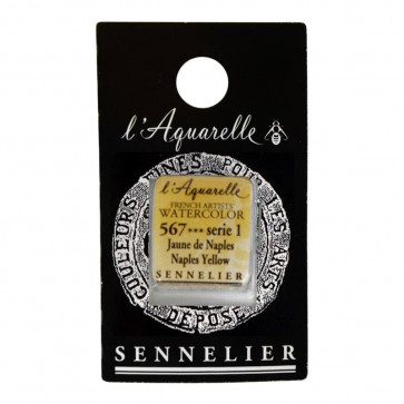 ACQUERELLO SENNELIER ½ GOD 567 S1 NAPLES YELLOW