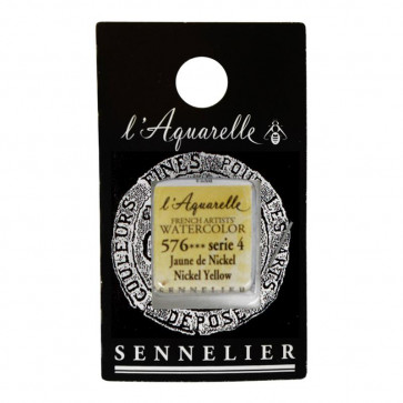 ACQUERELLO SENNELIER ½ GOD 576 S4 NICKEL YELLOW
