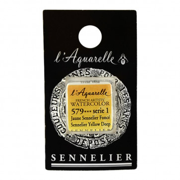 ACQUERELLO SENNELIER ½ GOD 579 S1 SENNELIER YELLOW DEEP