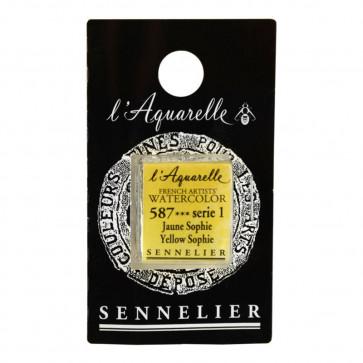 ACQUERELLO SENNELIER ½ GOD 587 S1 YELLOW SOPHIE