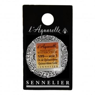 ACQUERELLO SENNELIER ½ GOD 599 S3 QUINACRIDONE GOLD