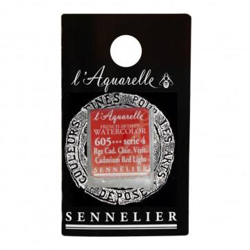 ACQUERELLO SENNELIER ½ GOD 605 S4 CADMIUM RED LIGHT