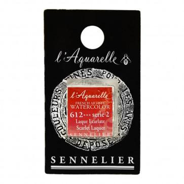 ACQUERELLO SENNELIER ½ GOD 612 S2 SCARLET LAQUER